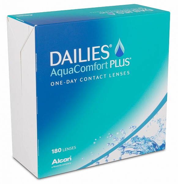 Dailies AquaComfort Plus (180 ks)