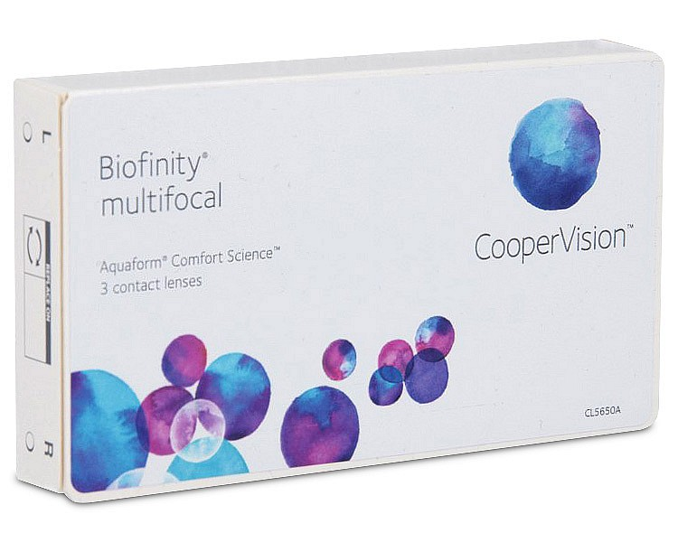 Biofinity Multifocal (6 ks)