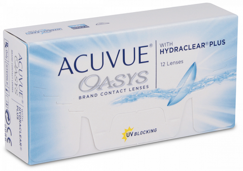 Acuvue Oasys With Hydraclear Plus (12 ks)
