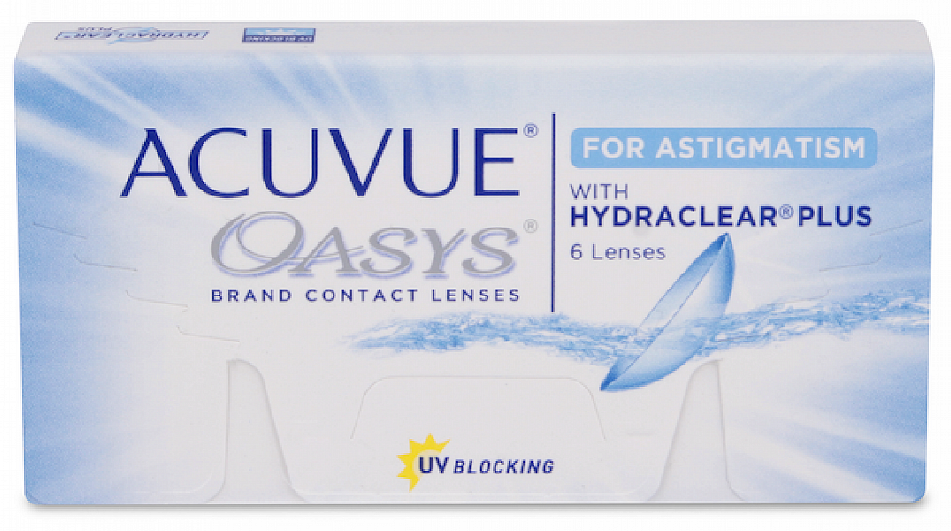 Acuvue Oasys With Hydraclear Plus For Astigmatism (6 ks)