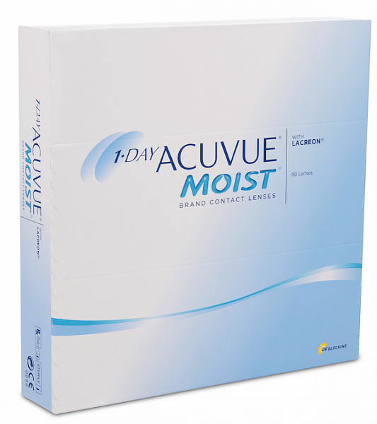 Acuvue 1-Day Moist (90 ks)