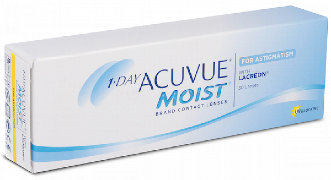 Acuvue 1-Day Moist For Astigmatism (30 ks)