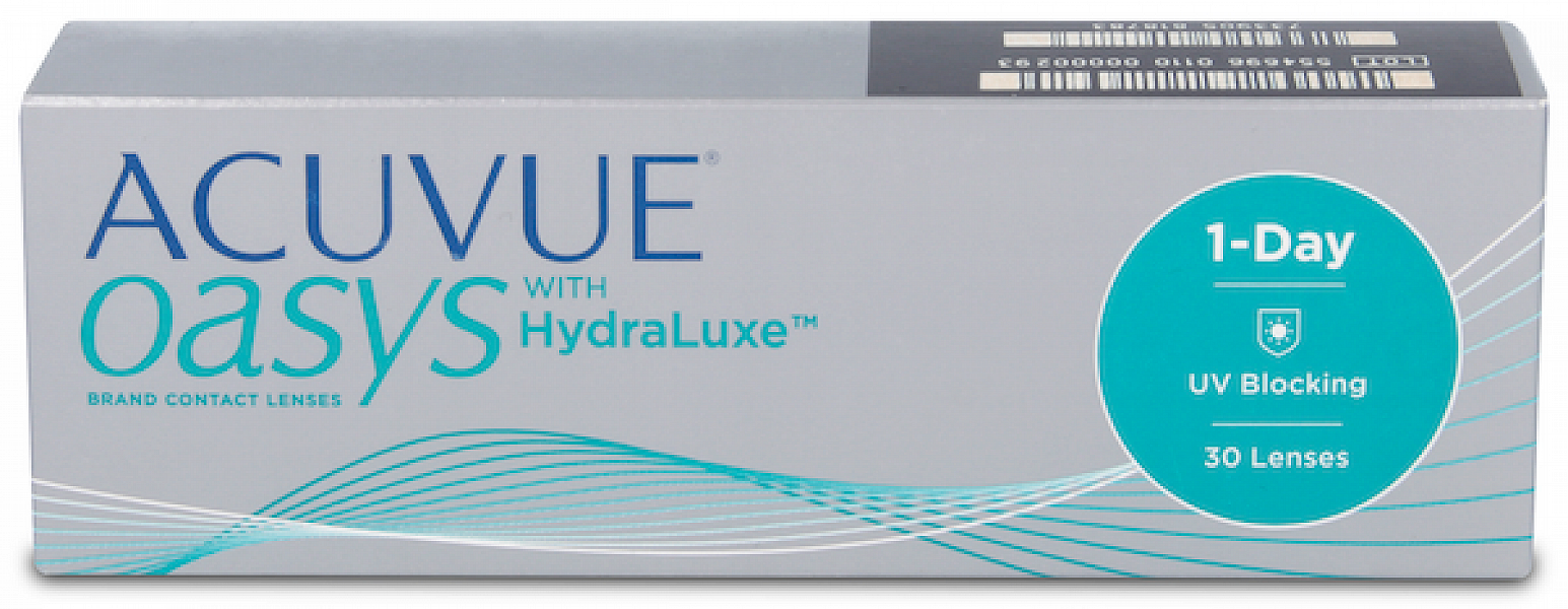 Acuvue Oasys 1-Day With Hydraluxe (30 ks)